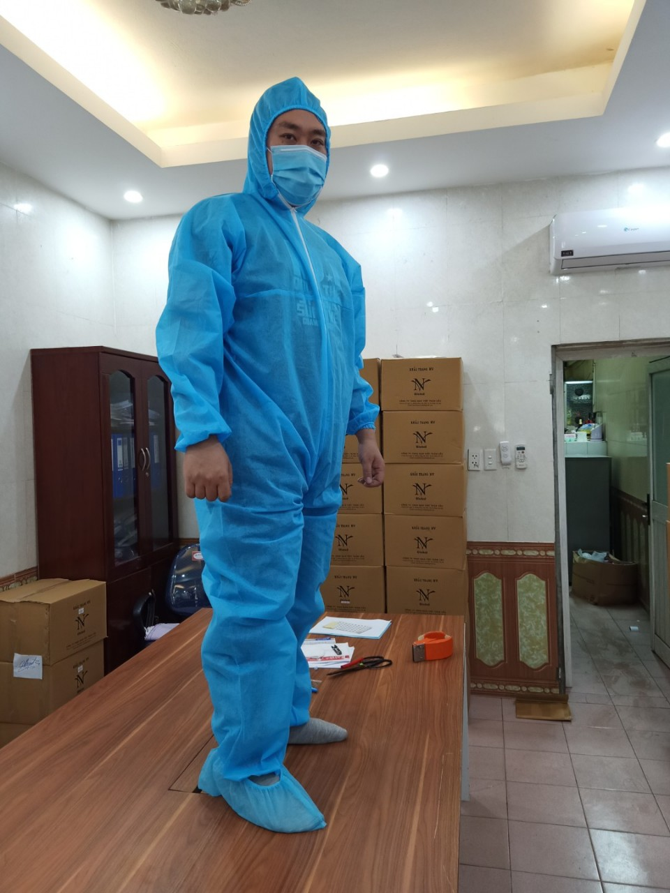Antimicrobial, epidemic clothes